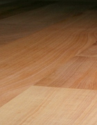 Madrone flooring from Green Mountain Woodworks