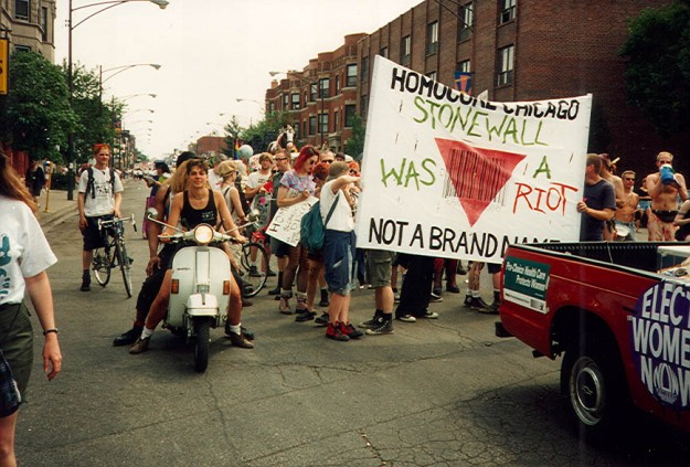 Stonewall was a riot—not a brand name.
